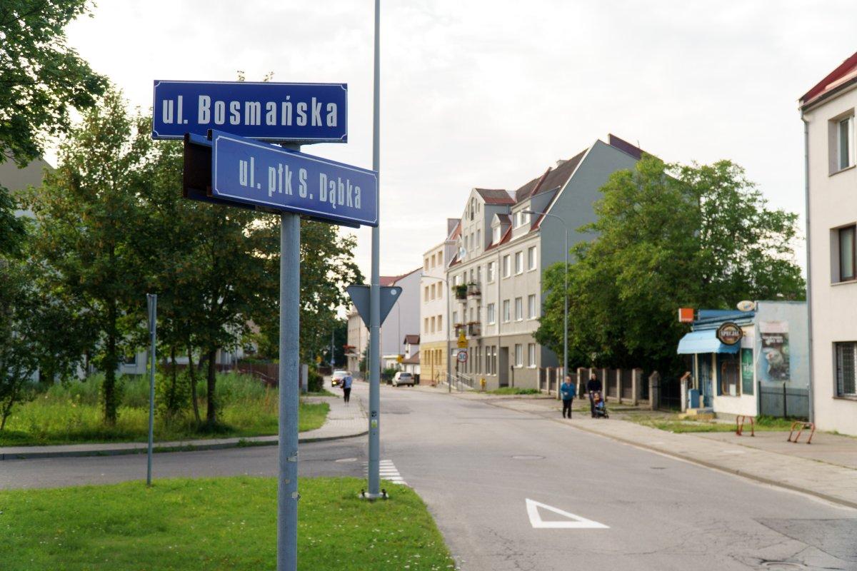 Skrzyżowanie ulic Płk. Dąbka - Bosmańska - Dickmana jest ważne dla płynnej komunikacji naOksywiu Górnym //fot. Aleksander Trafas