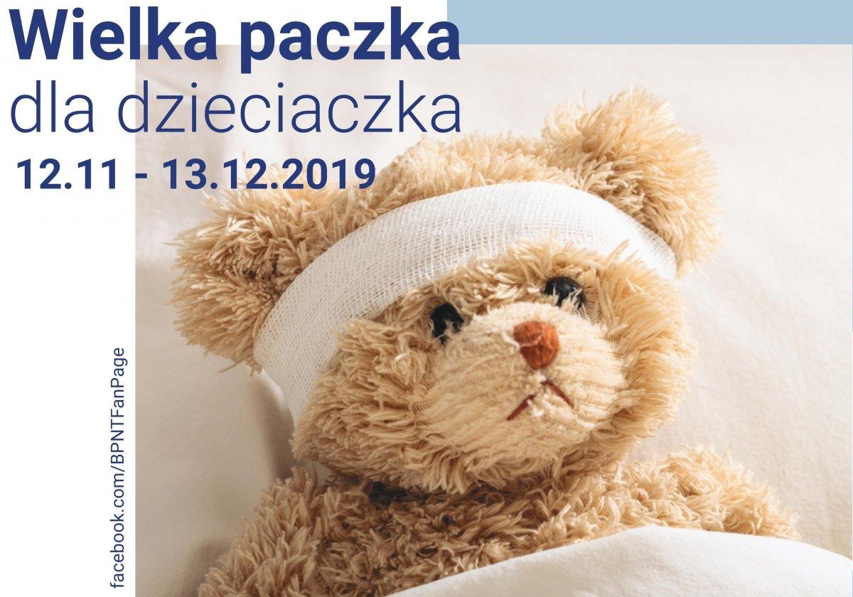 Wielka paczka dla dzieciaczka // mat. prasowe