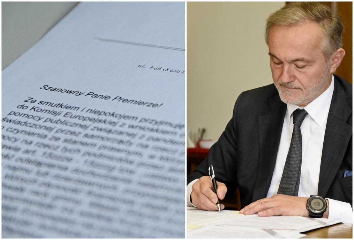 Prezydent Wojciech Szczurek reaguje na zablokowanie możliwości udzielania wsparcia przedsiębiorcom i zwraca się do Premiera RP