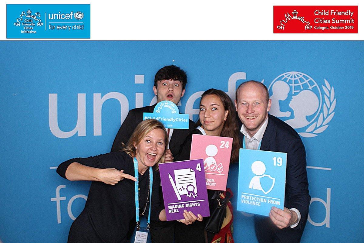 Gdynia na szczycie UNICEF