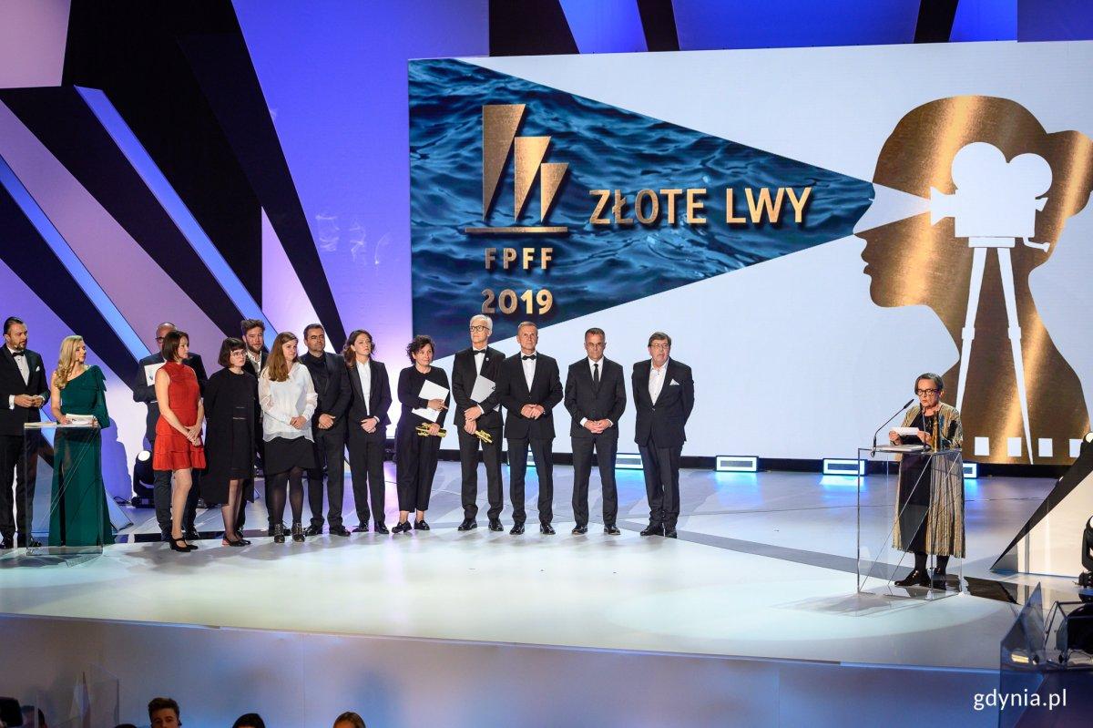 """Złote Lwy otrzymał film """"Obywatel Jones"""" w reżyserii Agnieszki Holland // fot. Dawid Linkowski"""
