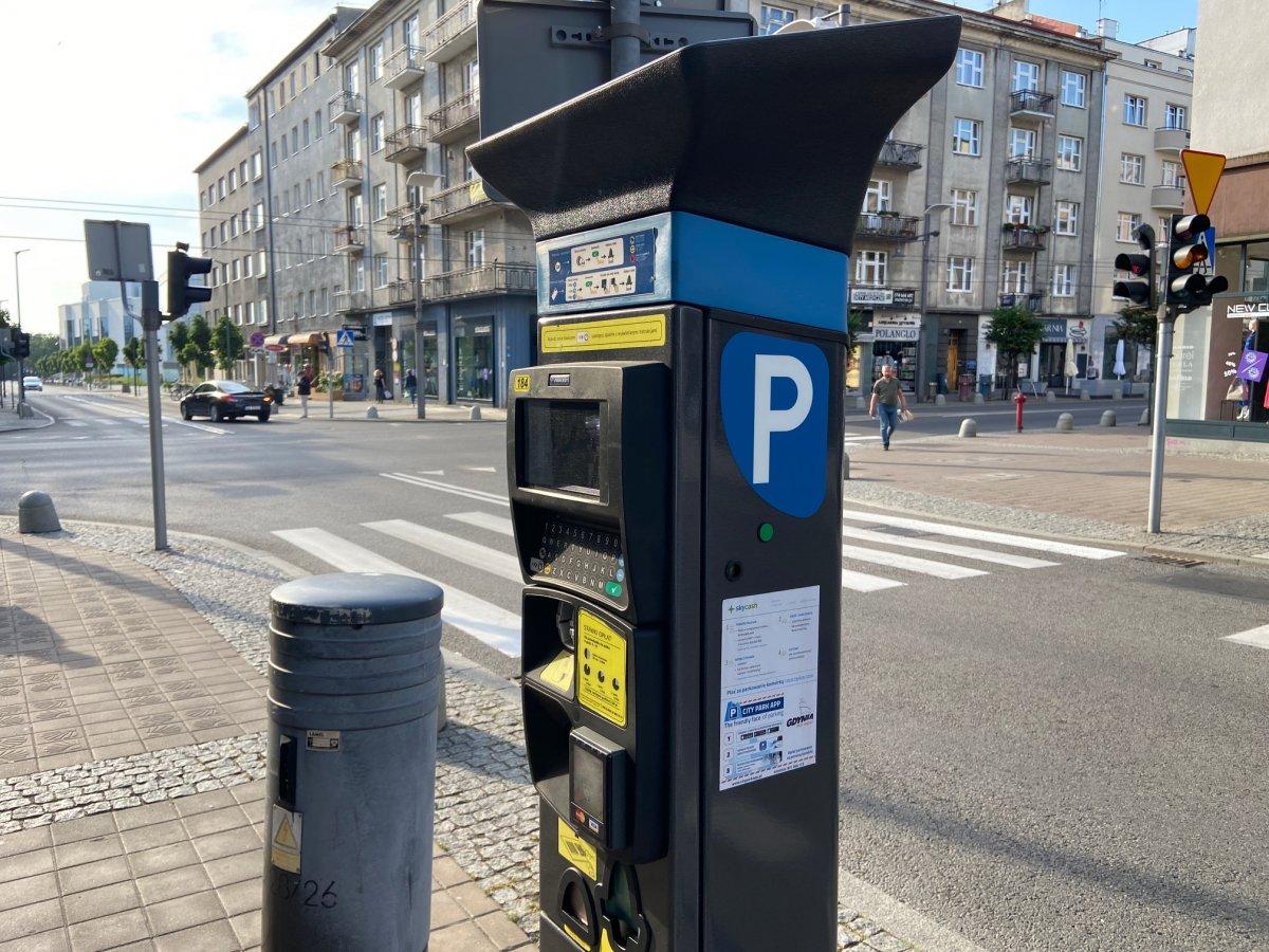 Parkomat w Gdyni // fot. ZDiZ