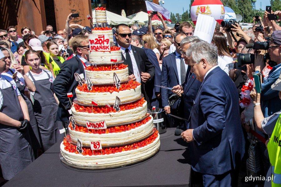 We wtorek, 4 czerwca w Gdańsku odbyły się centralne obchody Święta Wolności i Solidarności, fot. Piotr Hukało.