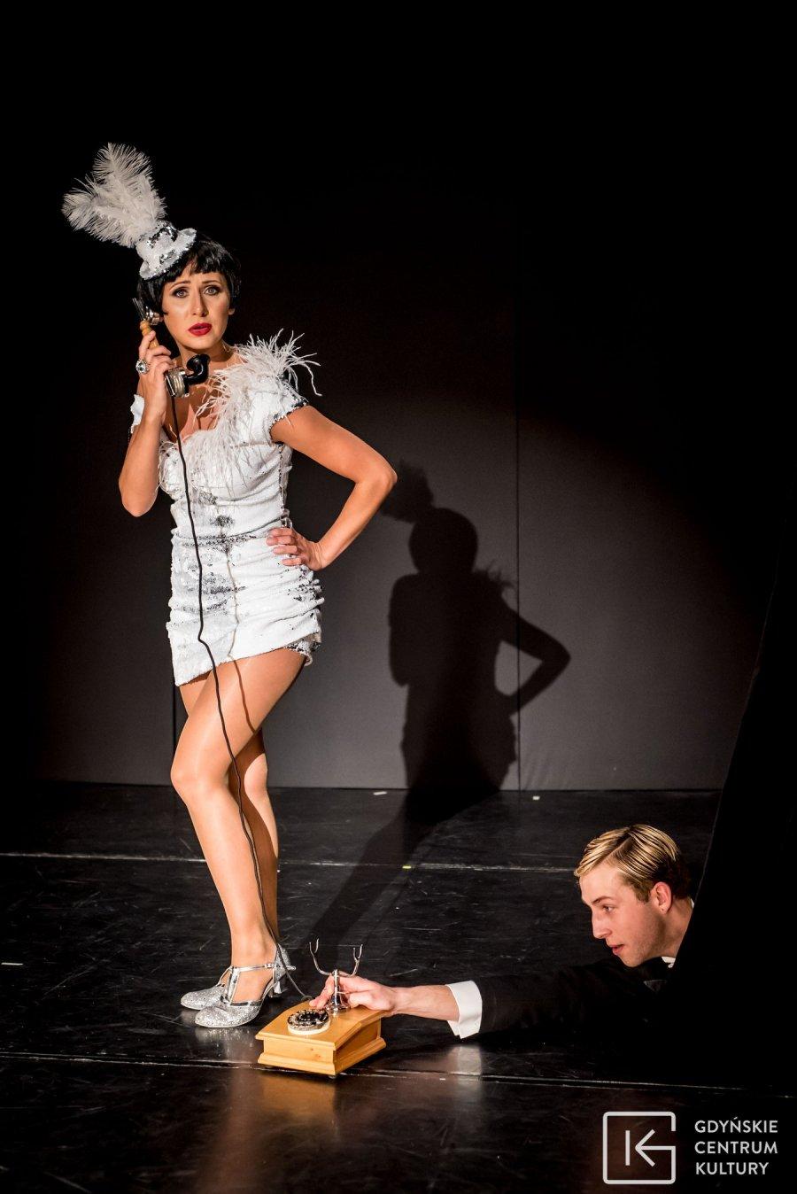 """Spektakl """"Rewia – lata 20. lata 30."""" będzie można oglądać w Gdyńskim Centrum Kultury // fot. Sebastian Mul"""
