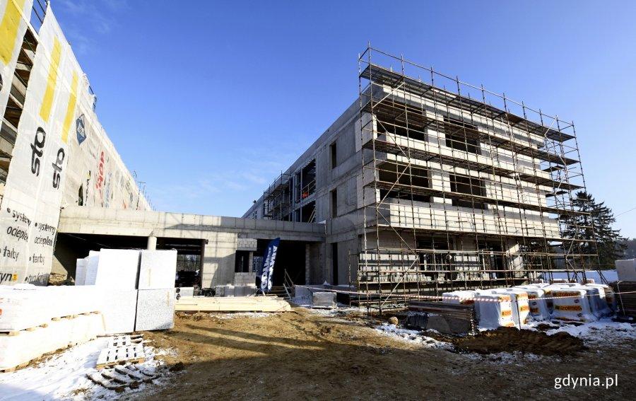 Pierwsza w centralnej Europie Microsoft Flagship School powstanie w XVII LO, w nowym kompleksie na Chwarznie-Wiczlinie, fot. Kamil Złoch