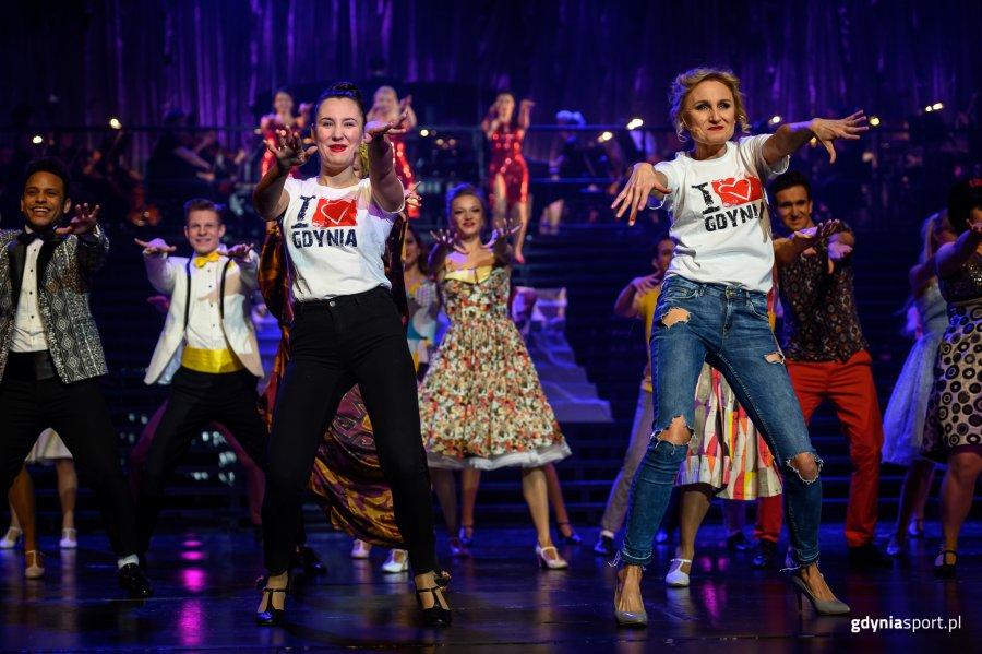 Gala Gdyńskiego Sportu, występ artystów Teatru Muzycznego // fot. Dawid Linkowski