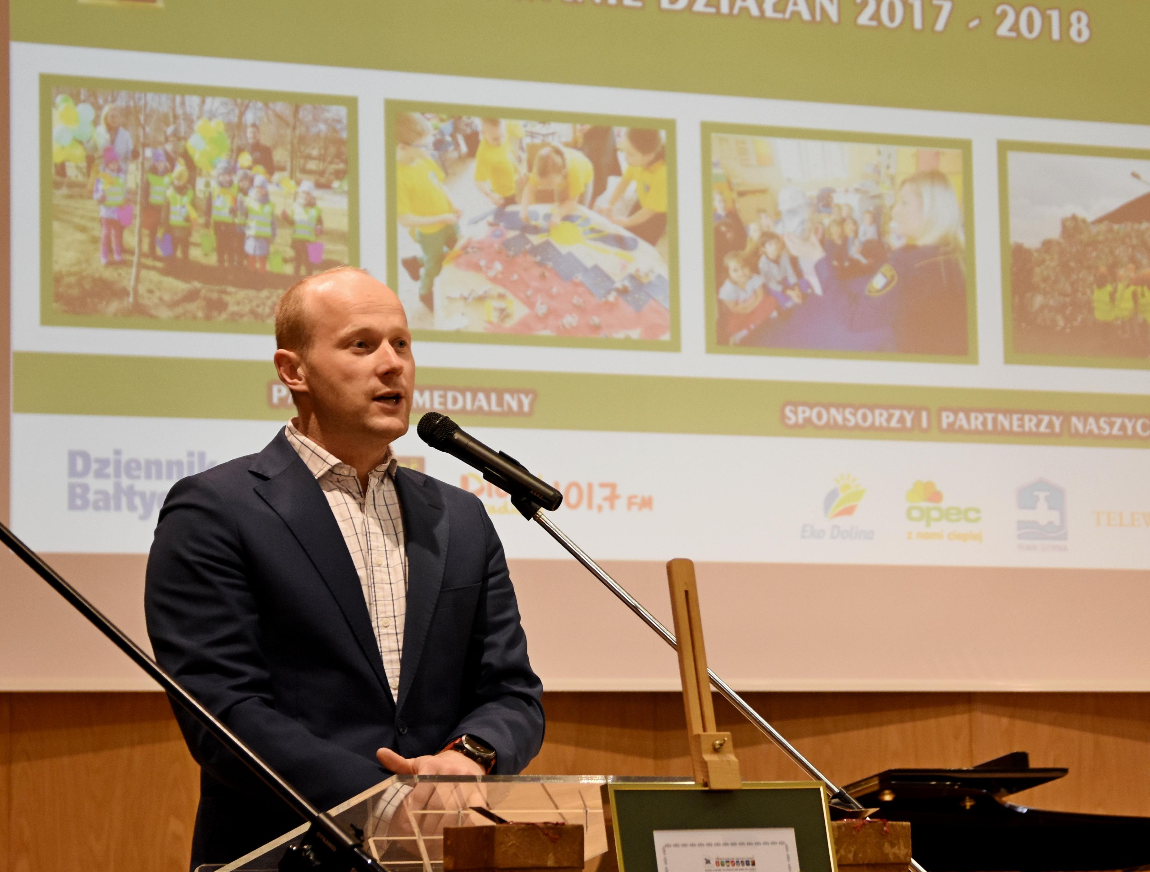 Wiceprezydent Gdyni, Bartosz Bartoszewicz, fot. Kamil Złoch
