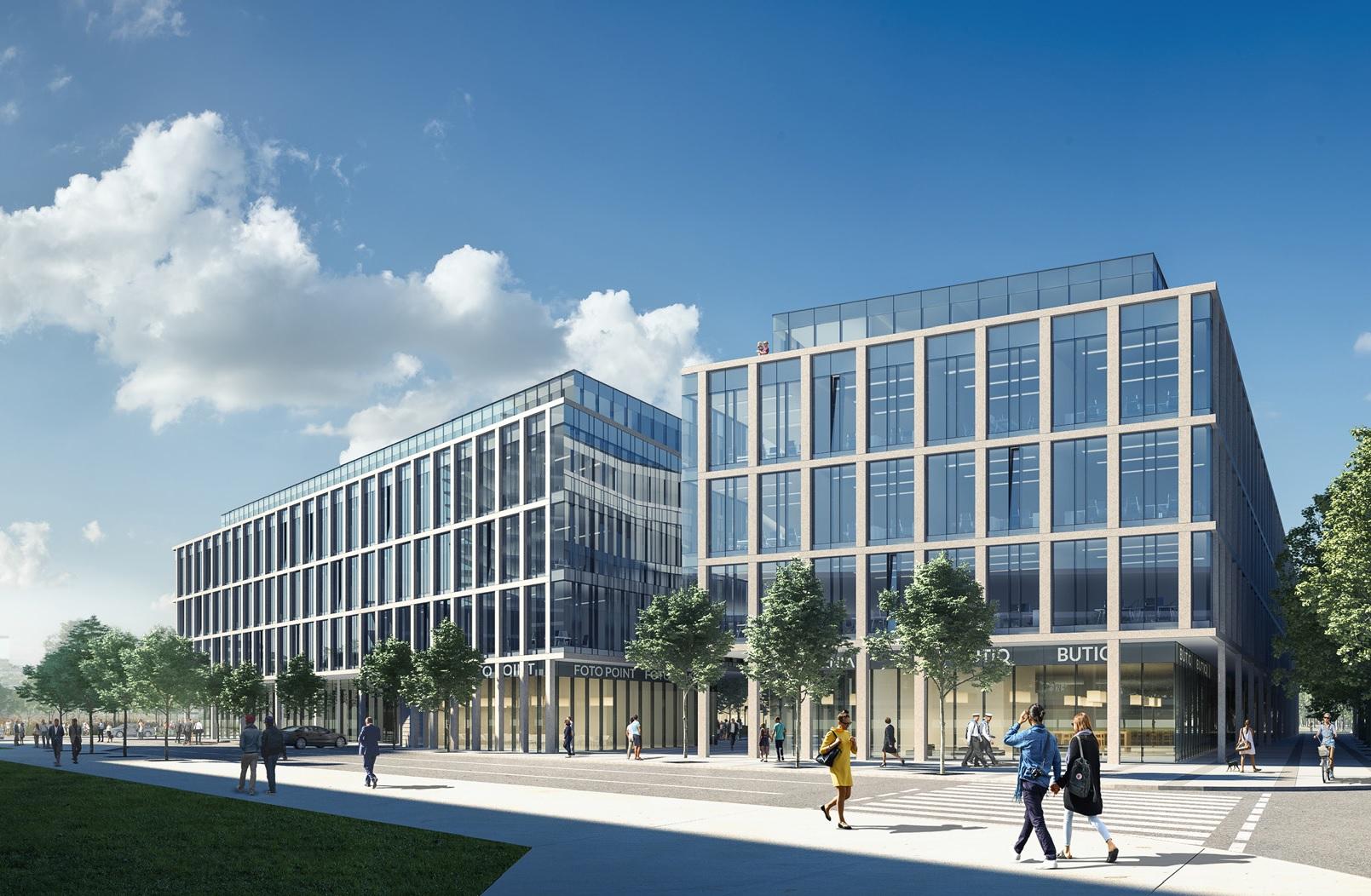 Wizualizacja obiektu Marina Office, fot. www.phnsa.pl