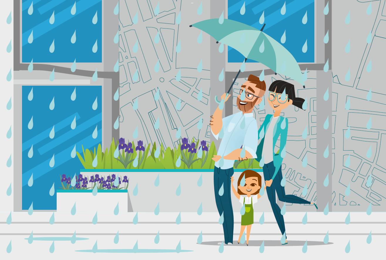 deszcz dla miasta