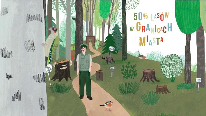 Kadr z trailera do książki Zapraszamy ptaki do Gdyni