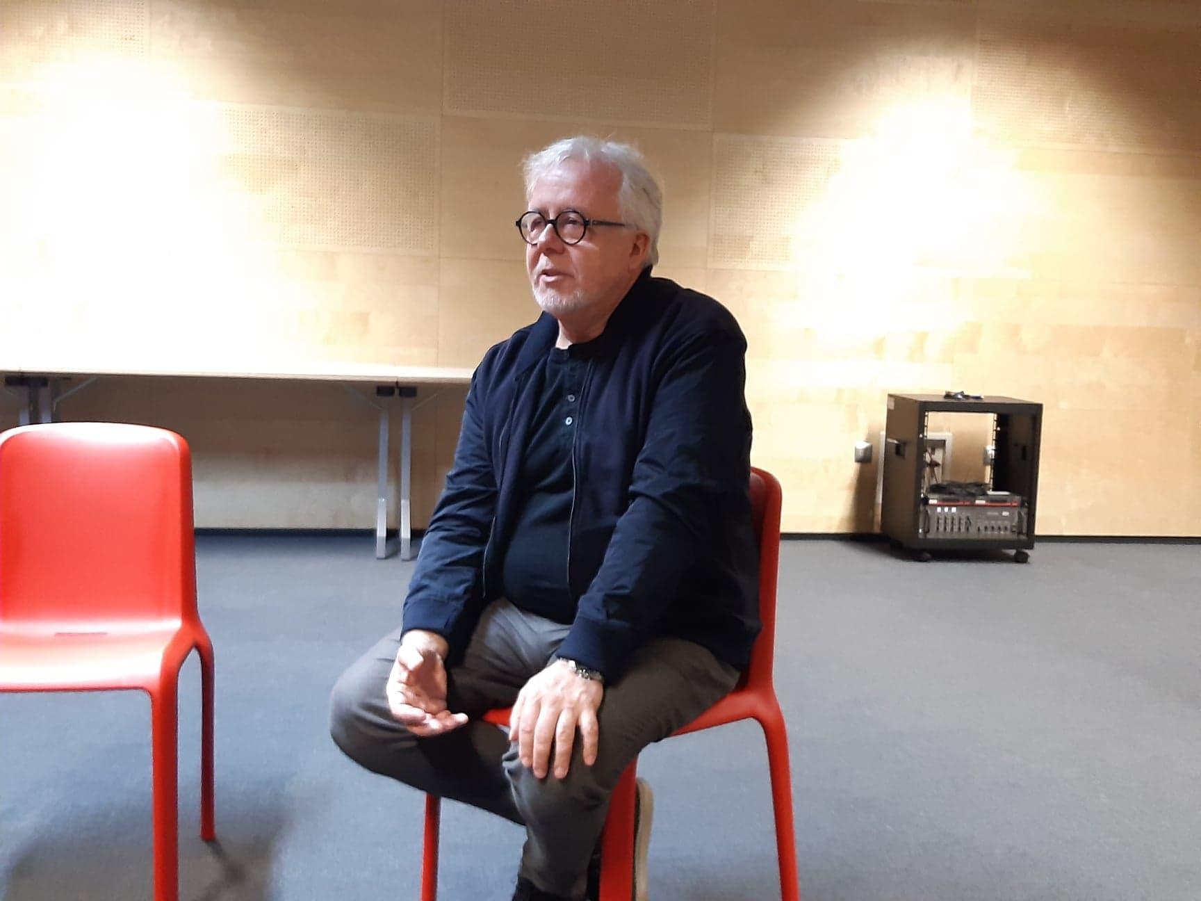Na zdj. Krzysztof Sarzała, pedagog i trener