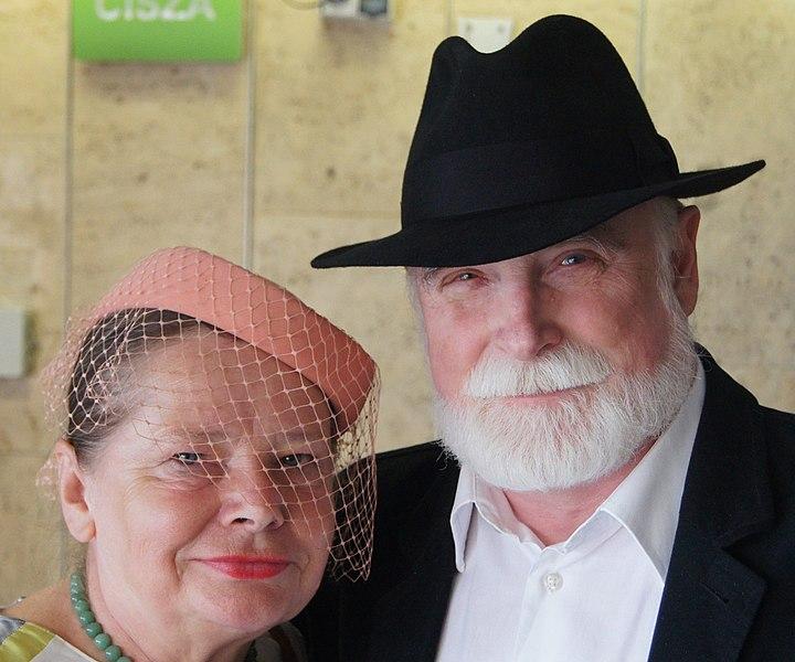 Krystyna i Stefan Chwinowie, fot. Rudolf H. Boettcher, źródło Wikipedia.org