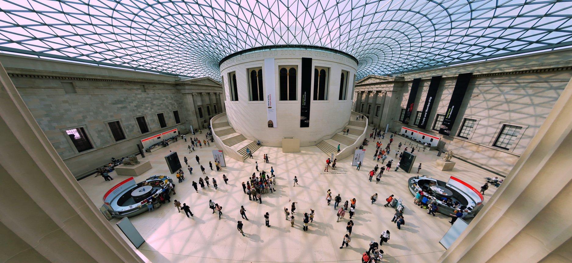 British Museum, fot. Viktor Forgacs / unsplash.com, źródło: Biblioteka Gdynia