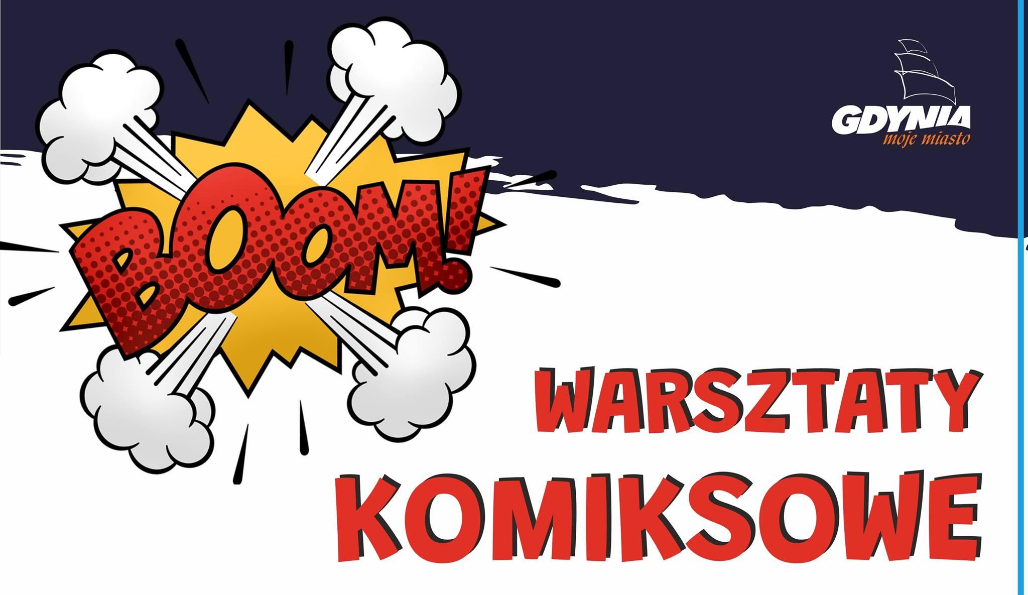 Warsztaty komiksowe Biblioteki Oksywie