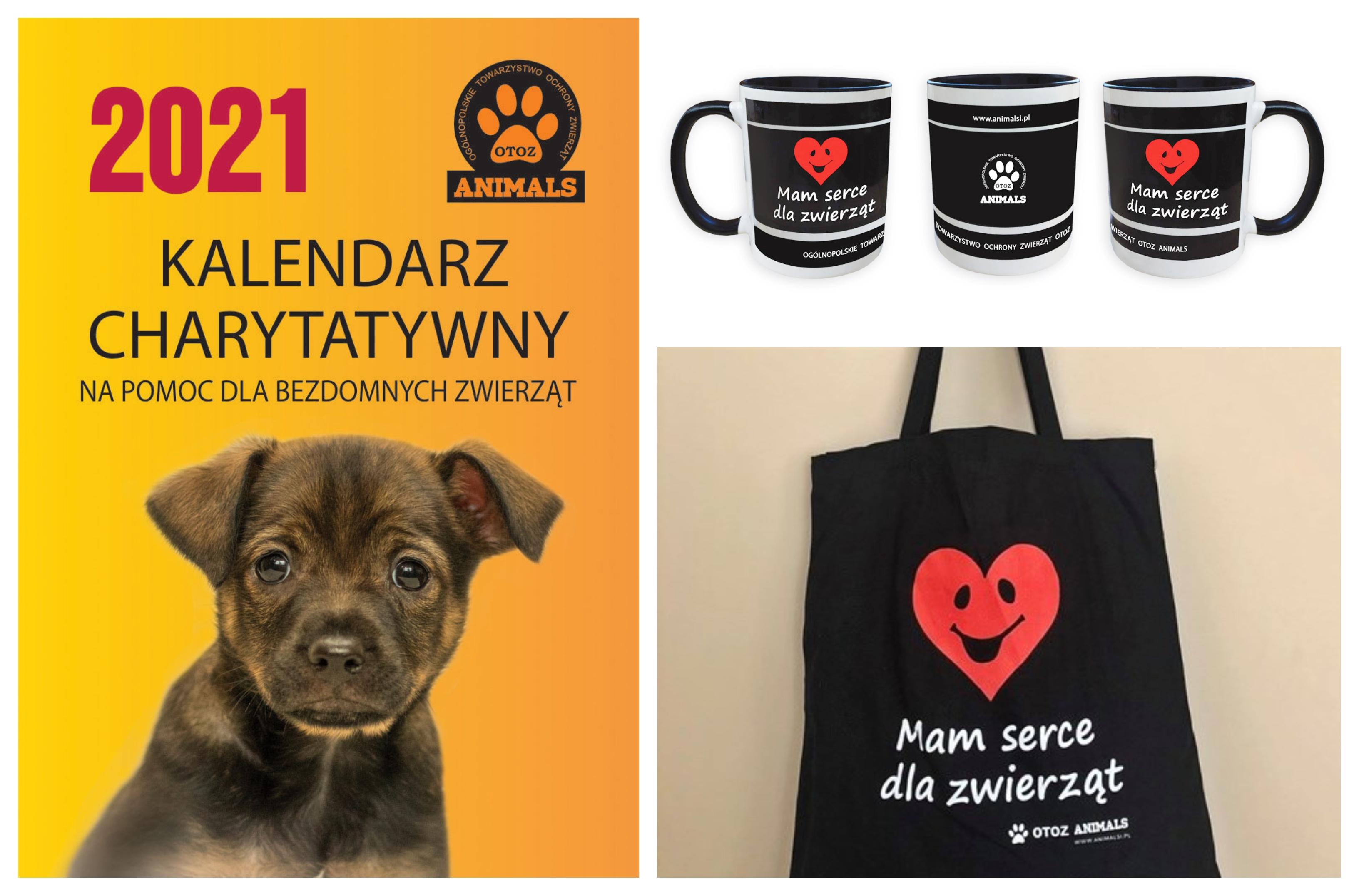 Kolaż zdjęć produktów ze sklepu OTOZ Animals, źródło OTOZ Animals