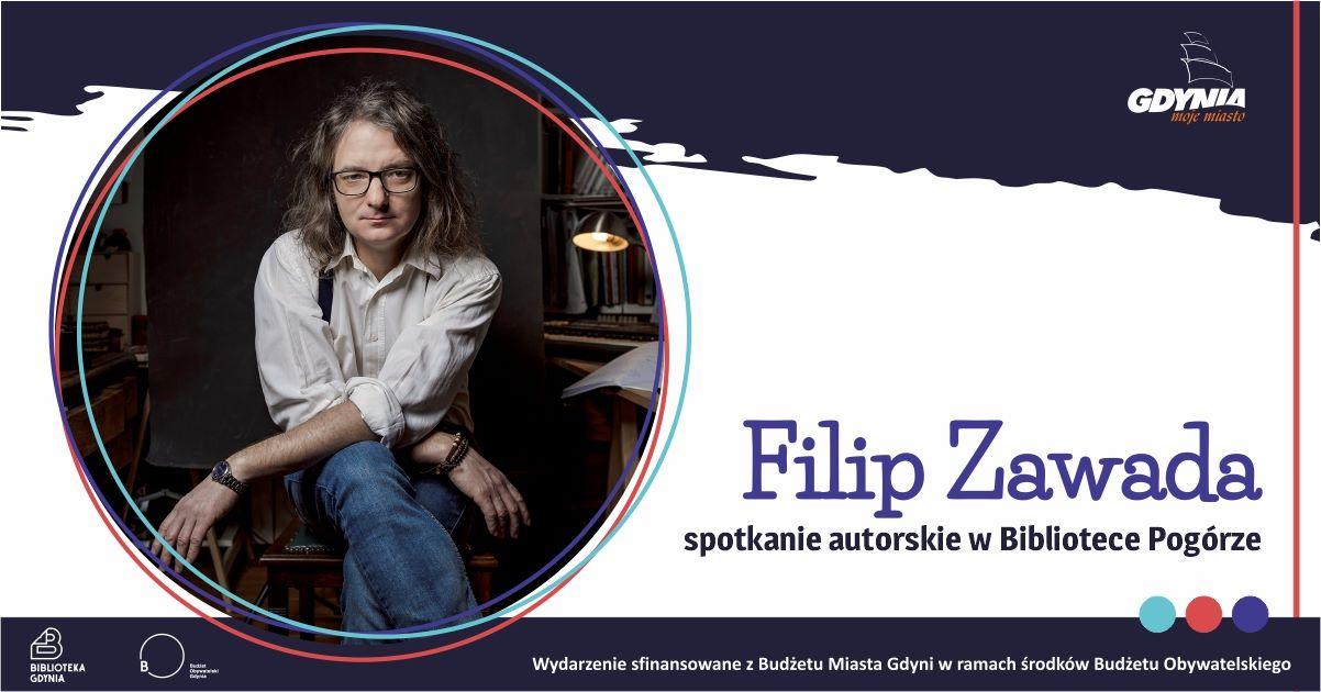 Filip Zawada – spotkanie autorskie