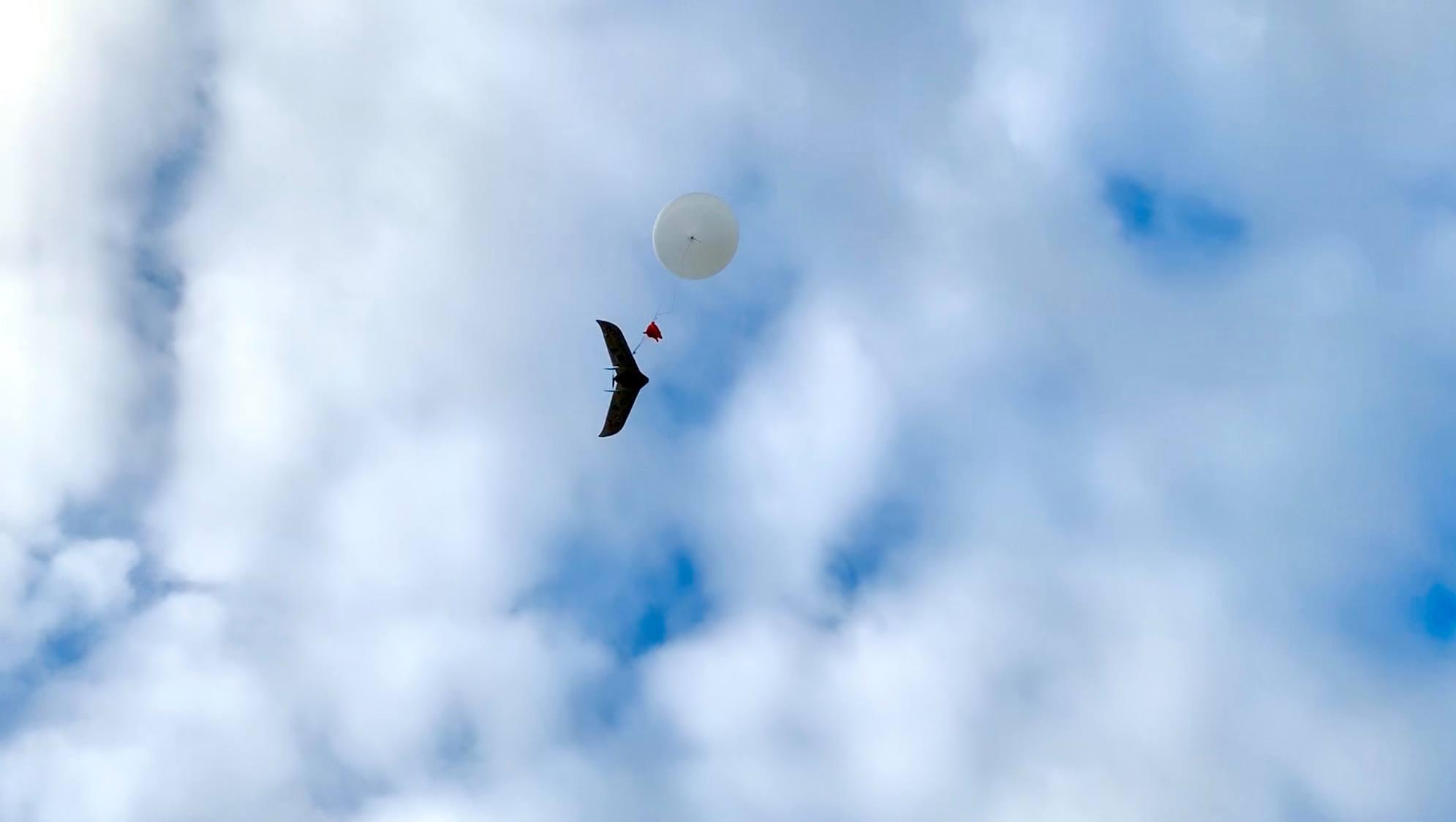 Dron IKAR wzniósł się na wysokość 11,5 km, fot. JIT Solutions