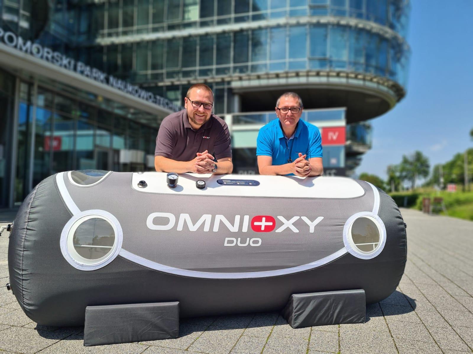 Adam i Marcin Cegielscy - właściciele firmy Omnioxy // mat. prasowe