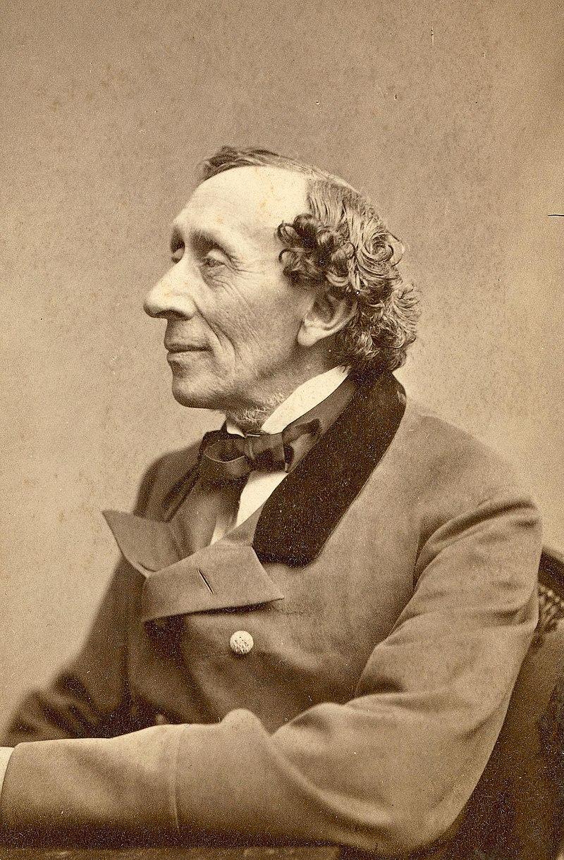 Hans Christian Andersen. fot. wikipedia.org