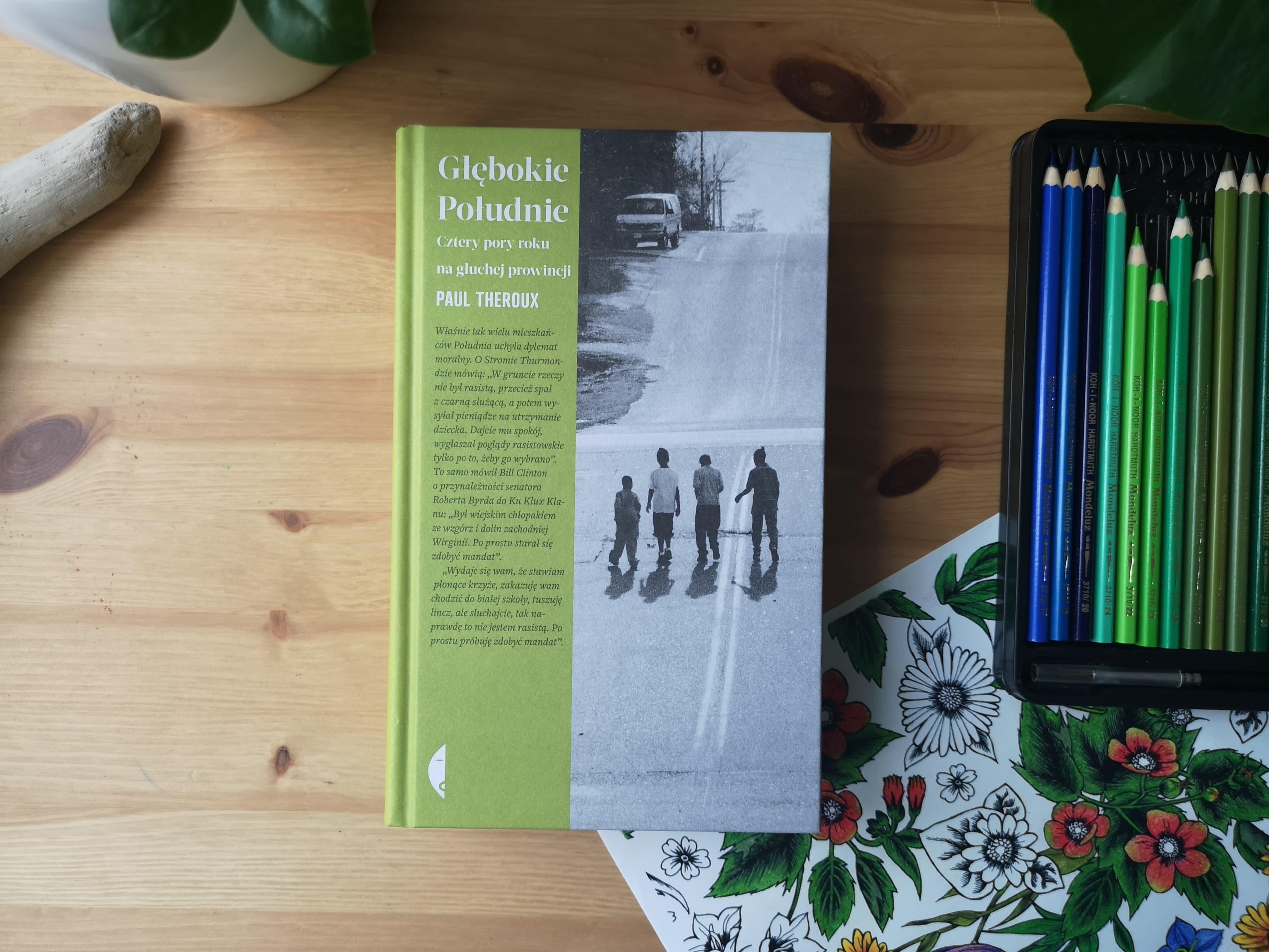 """""""Głębokie południe"""" Paul Theroux. Fot. Archiwum Biblioteki Gdynia"""