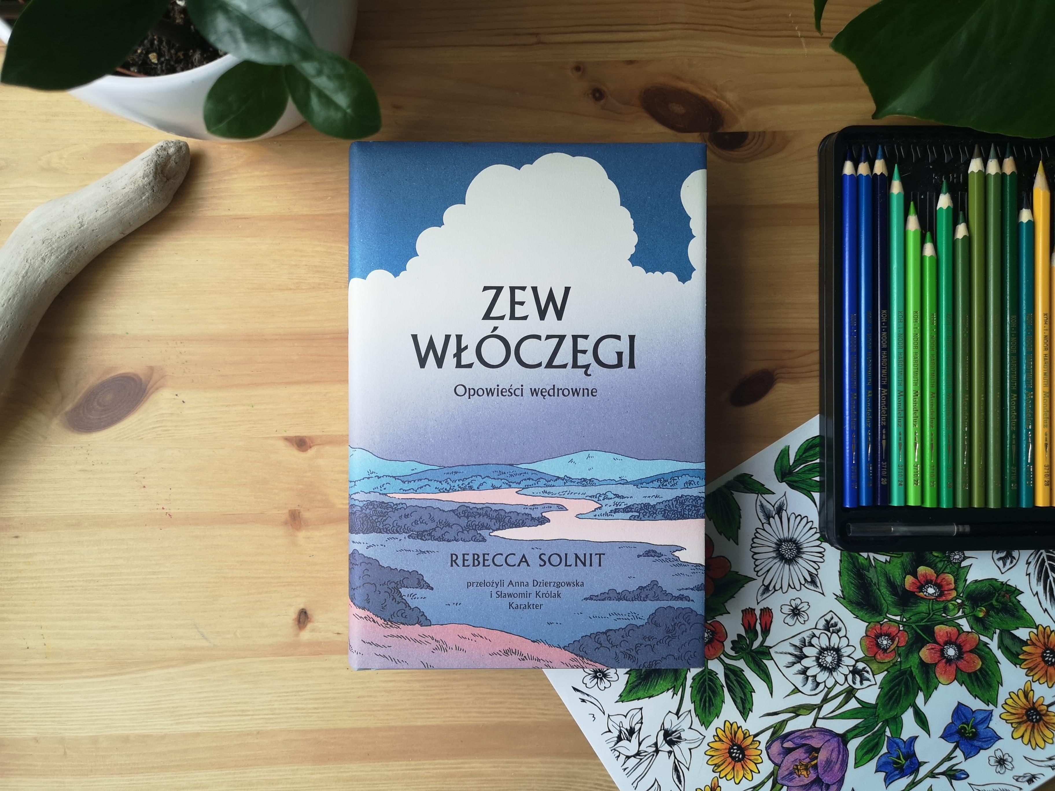 """""""Zew włóczęgi"""" Rebecka Solnit. Fot. Archiwum Biblioteki Gdynia"""