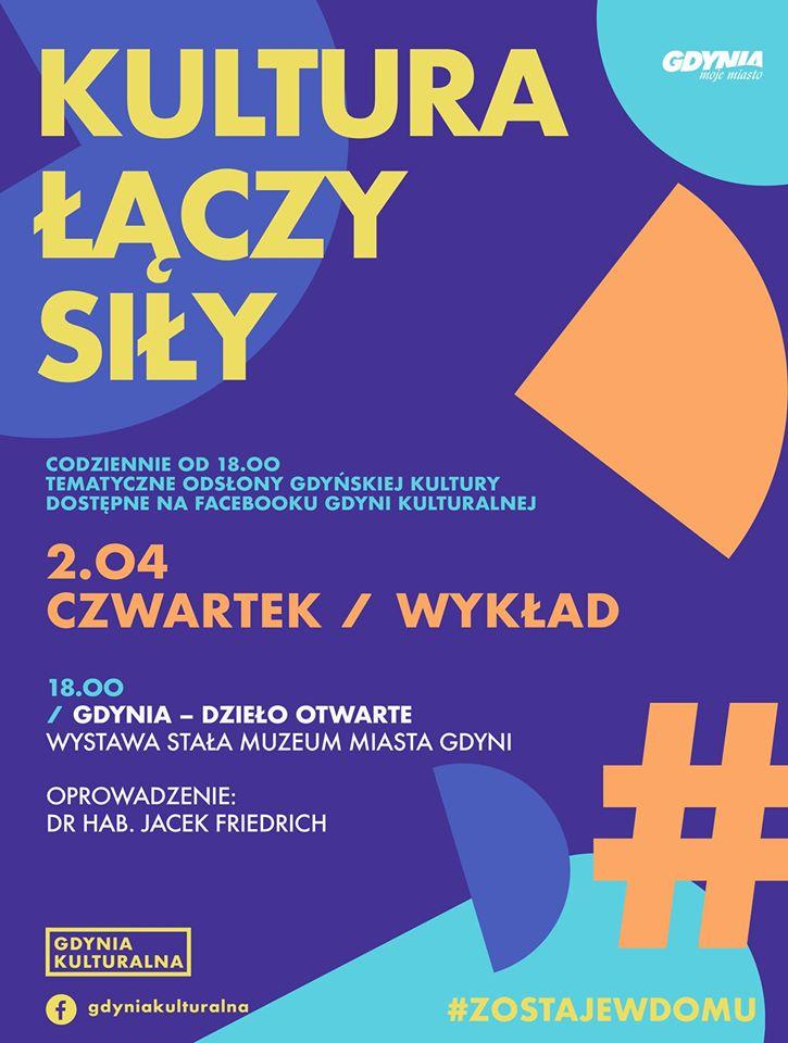 """Wirtualny spacer po wystawie """"Gdynia - dzieło otwarte"""""""