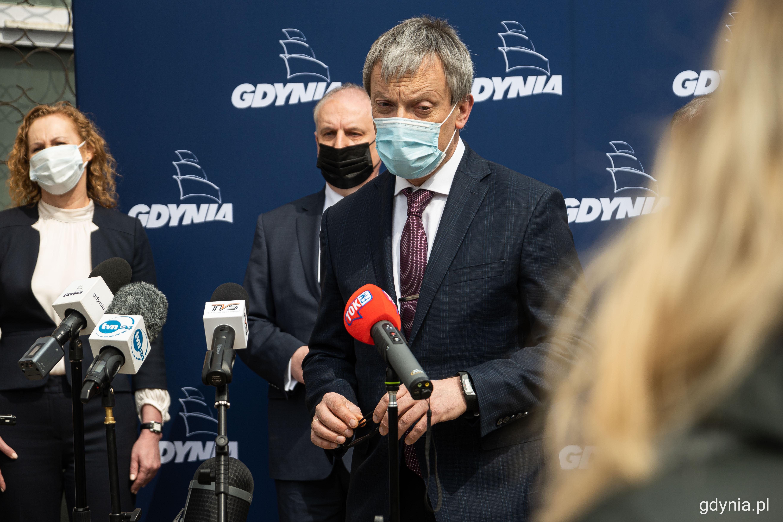 Dyrektor gdyńskiego UCMMiT, profesor Marcin Renke, fot. Kamil Złoch
