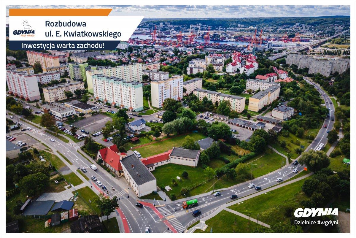 Przebudowy doczeka się odcinek ulicy Kwiatkowskiego na Obłużu, fot. Dzielnice #wGdyni