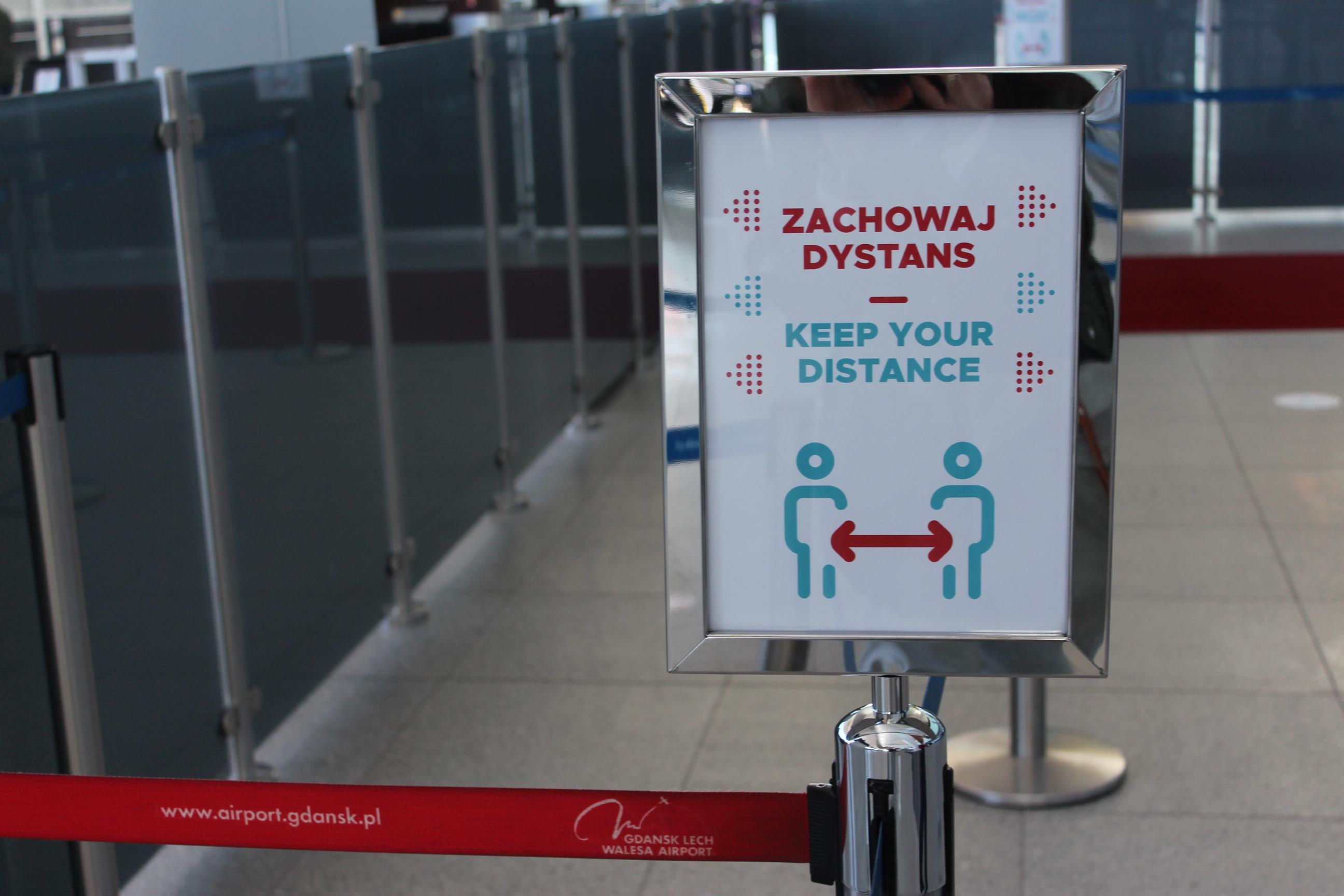 Nowe zasady dla podróżujących samolotami, fot. Magda Śliżewska