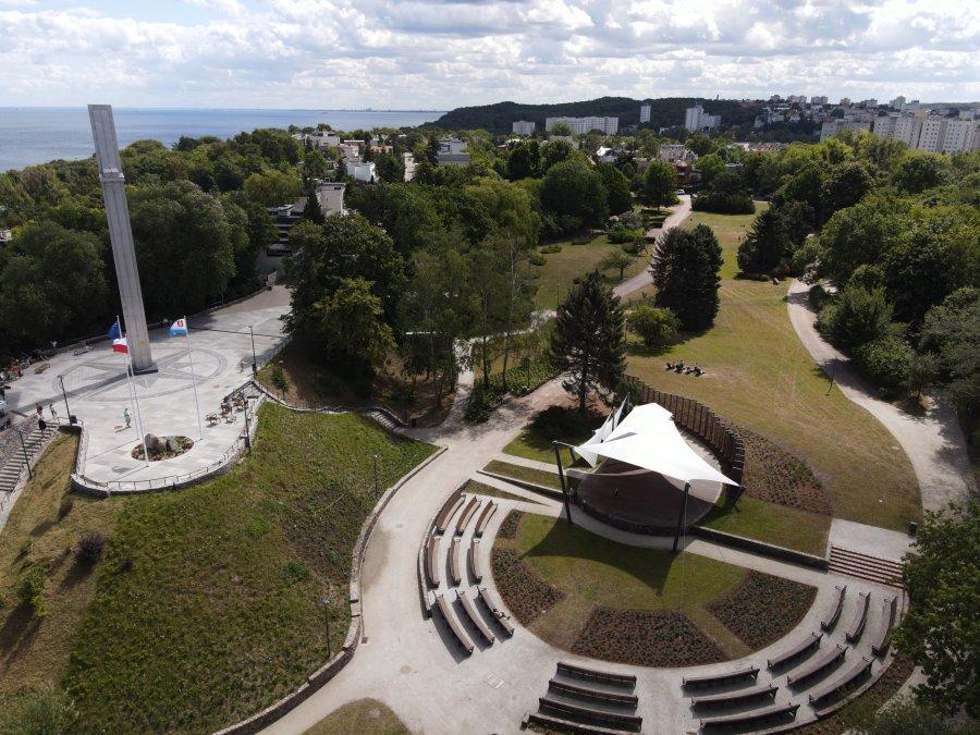 Rewitalizacja parku na Kamiennej Górze to m.in. nowa scena plenerowa, winda czy ogólnodostępne toalety, fot. Marcin Mielewski