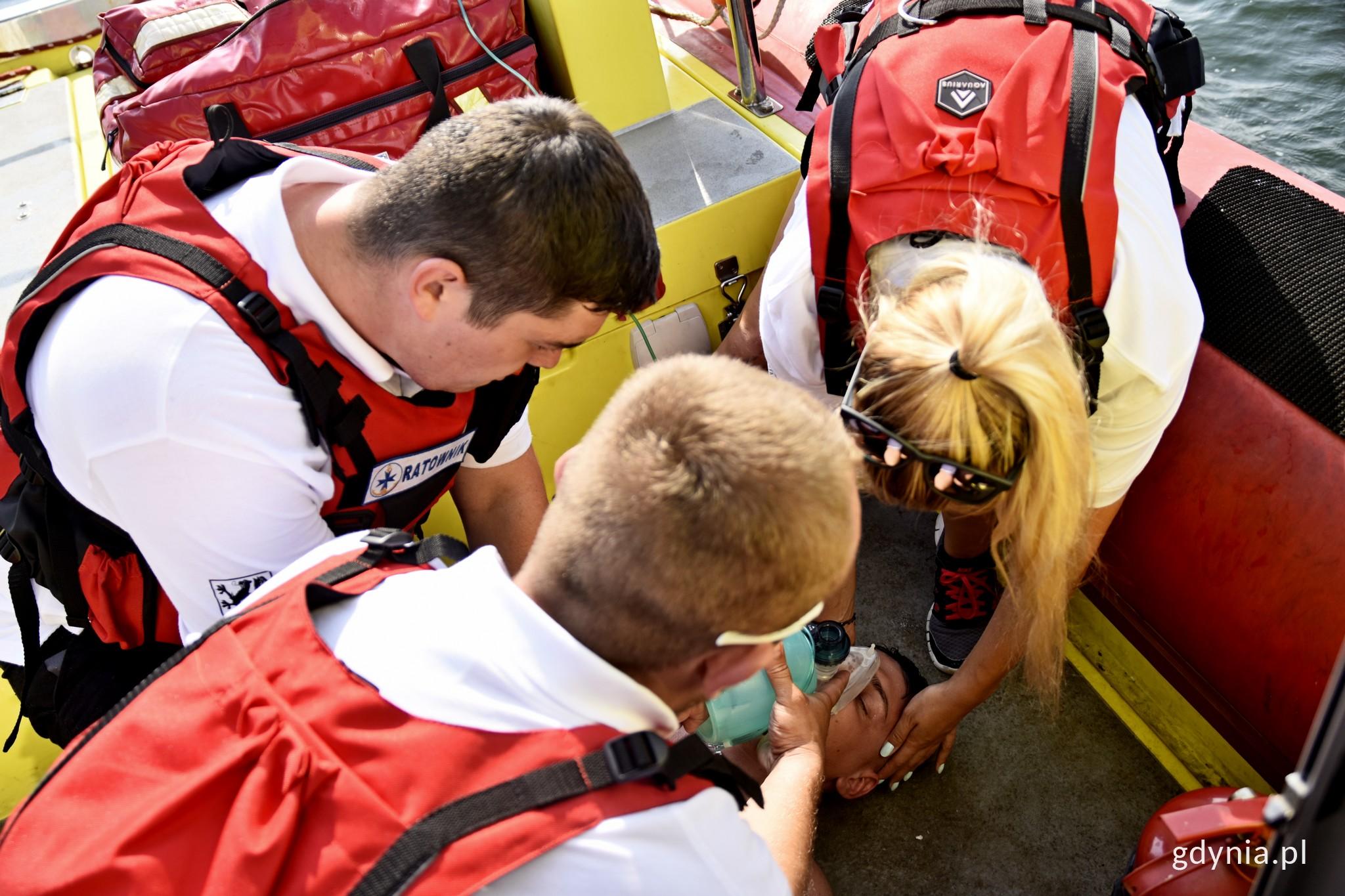 Pomorska Specjalistyczna Grupa Ratowniczna funkcjonuje przy gdyńskim oddziale WOPR // fot. Paweł Kukla