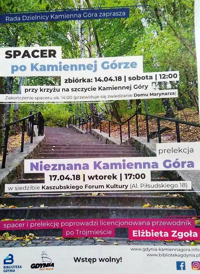 Plakat Spacer po Kamiennej Górze