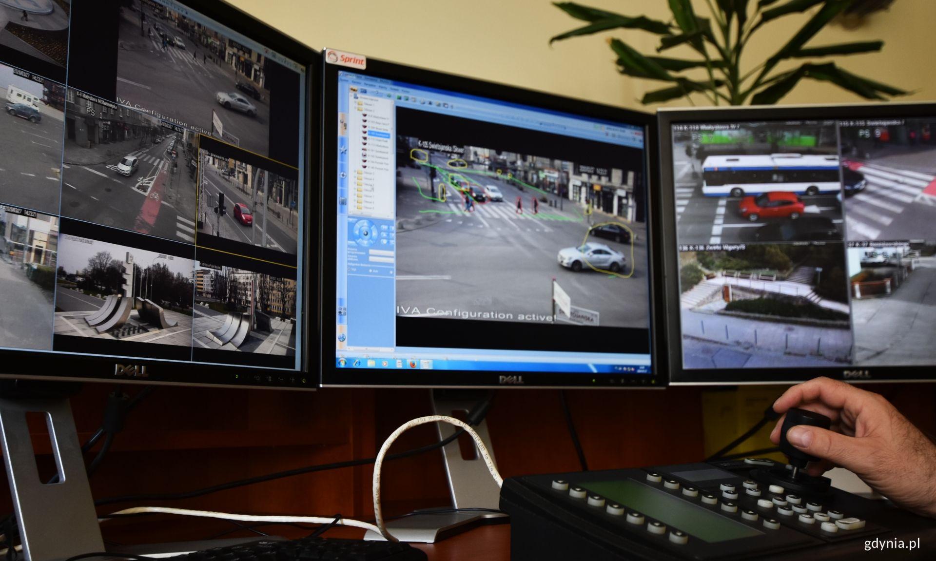 Tak pracuje monitoring w Gdyni, fot. Marcin Mielewski