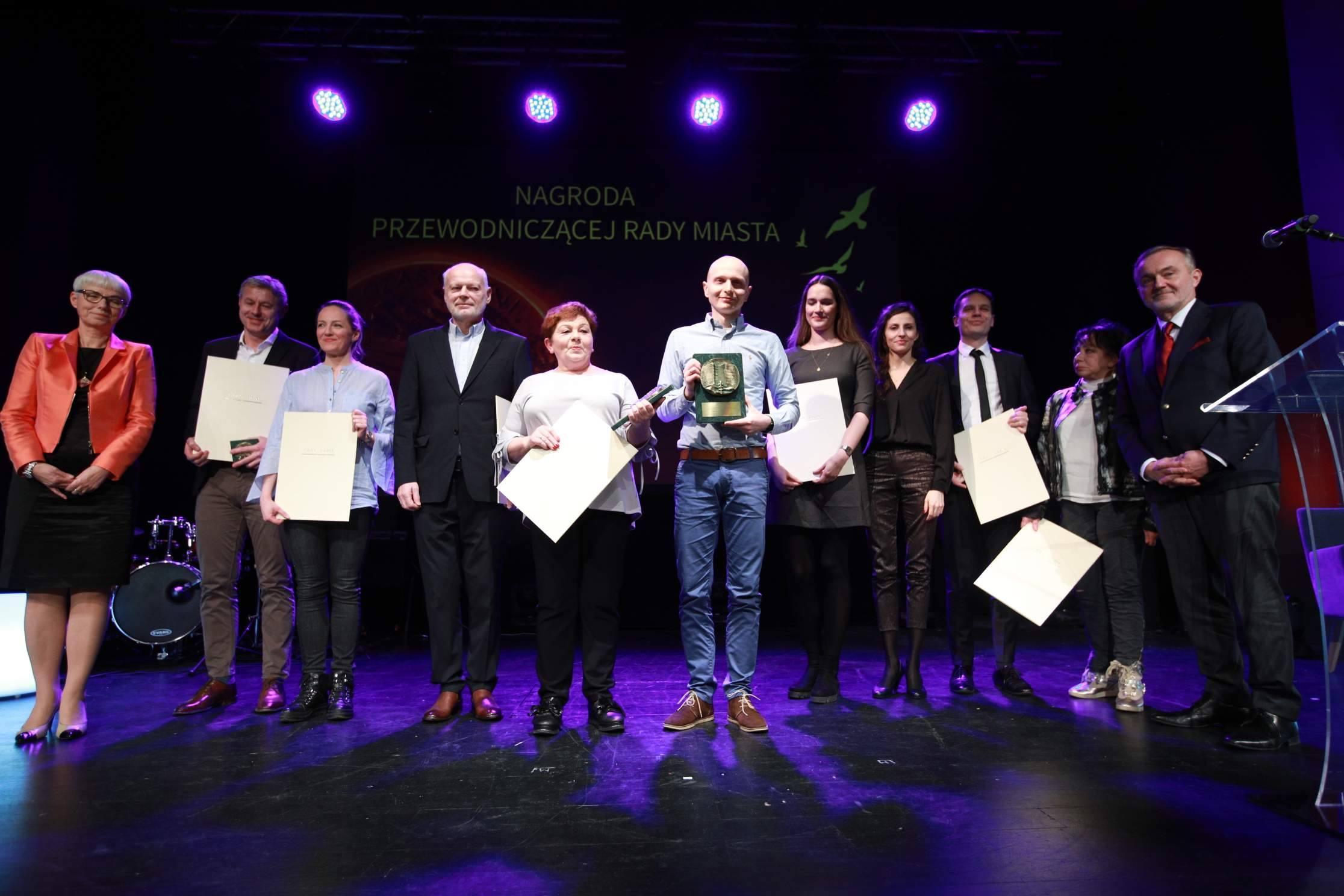 """Nagrodzeni i wyróżnieni w tegorocznej edycji """"Czasu Gdyni"""", fot. Karol Stańczak"""