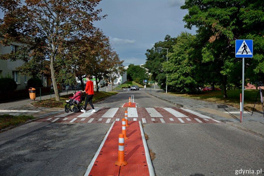 Przy gdyńskich przedszkolach i szkołach pojawiła się nowa, bezpieczna infrastruktura drogowa, fot. ZDiZ w Gdyni