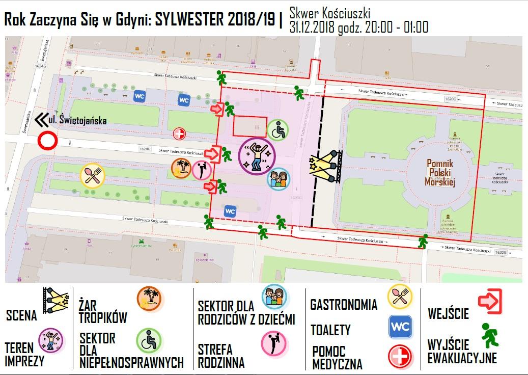 Mapa wydarzenia, fot. materiały prasowe