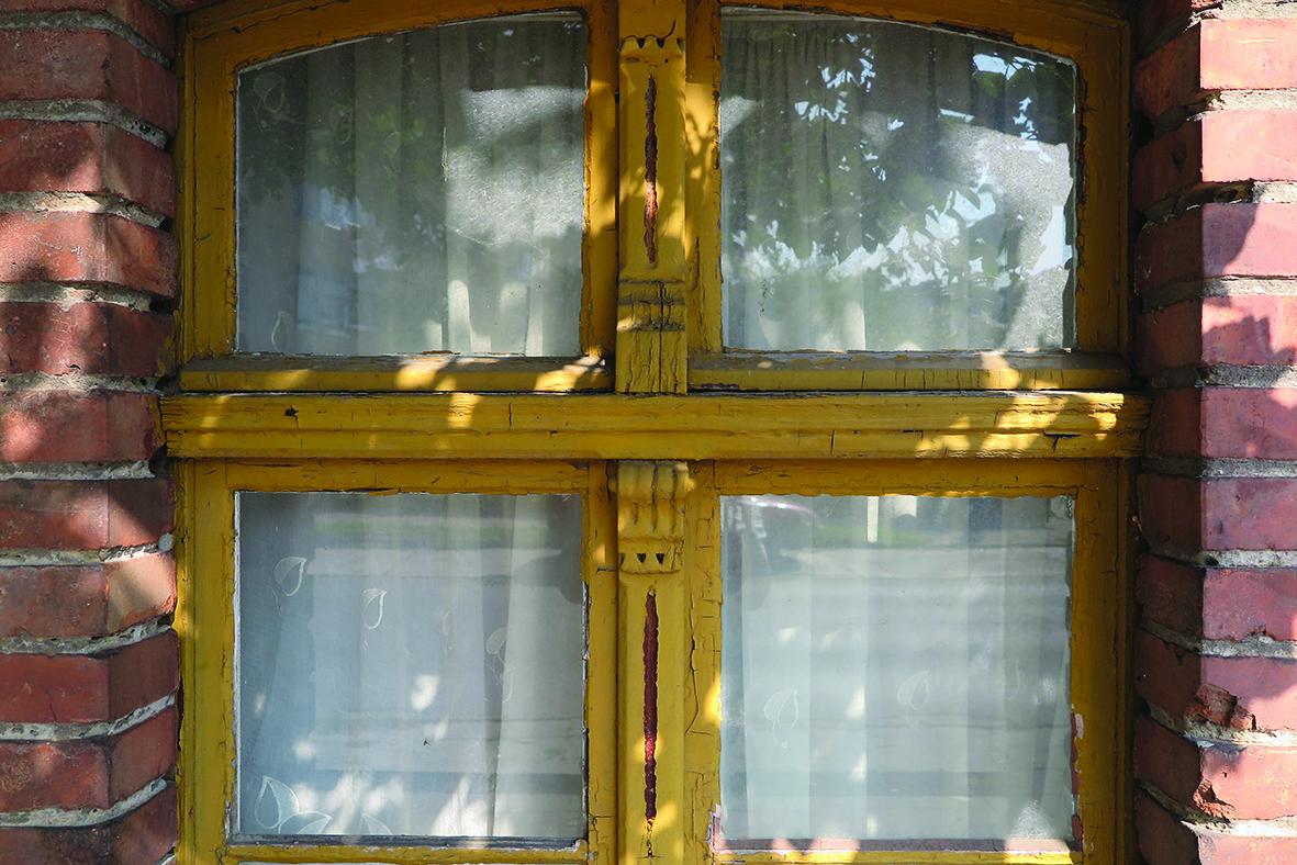 Okno domu Bieszków
