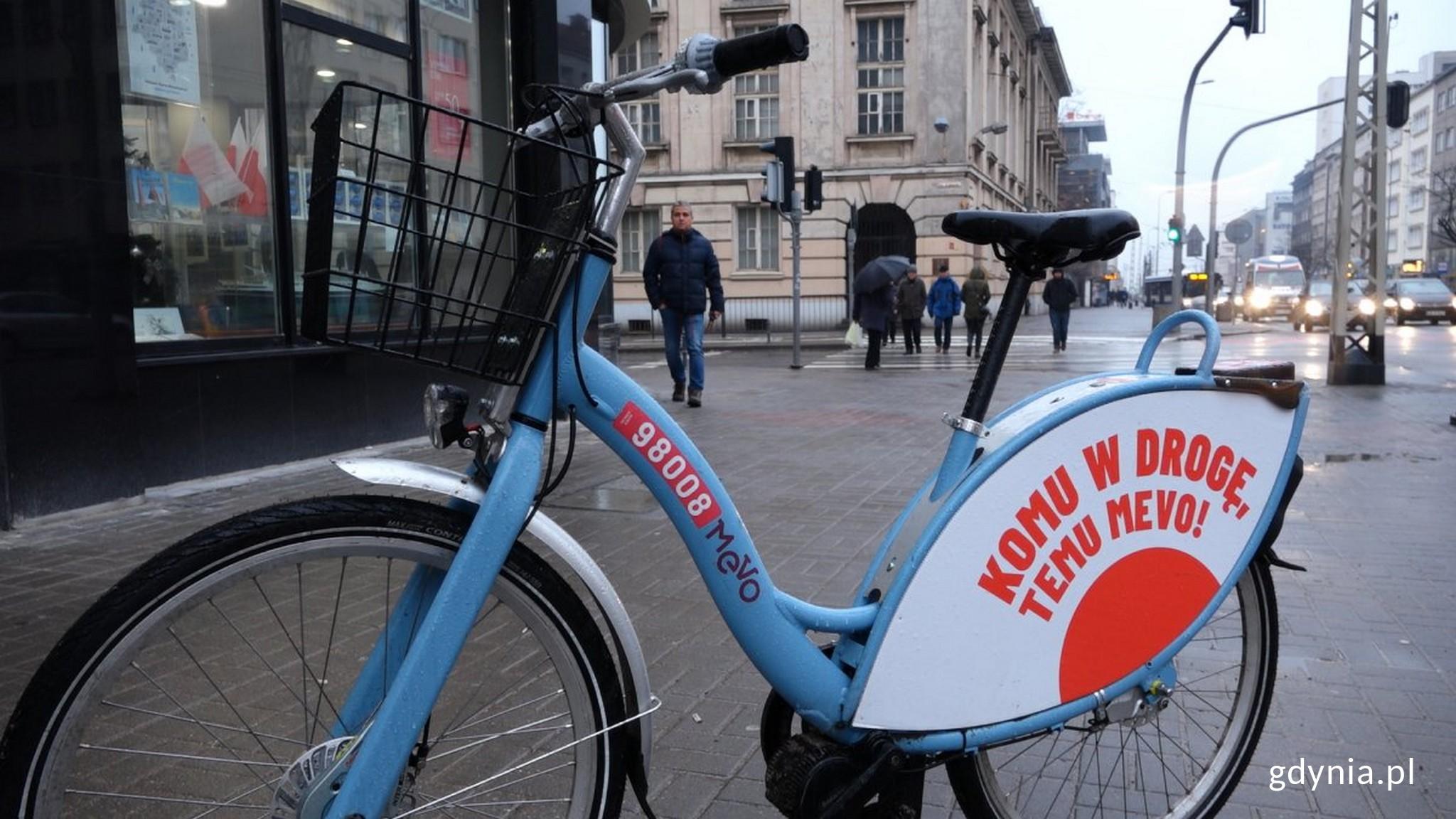 Mevo - najwiekszy na świecie system rowerów elektrycznych // fot. Sławomir Okoń