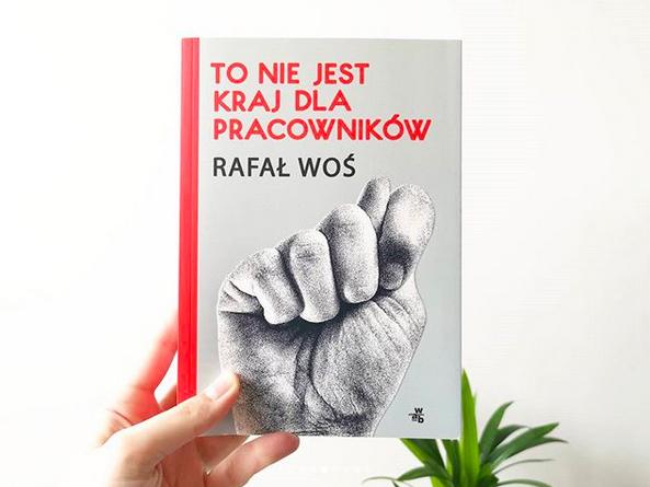 """""""To nie jest kraj dla pracowników"""" Rafał Woś, fot. Archiwum Biblioteki Gdynia"""