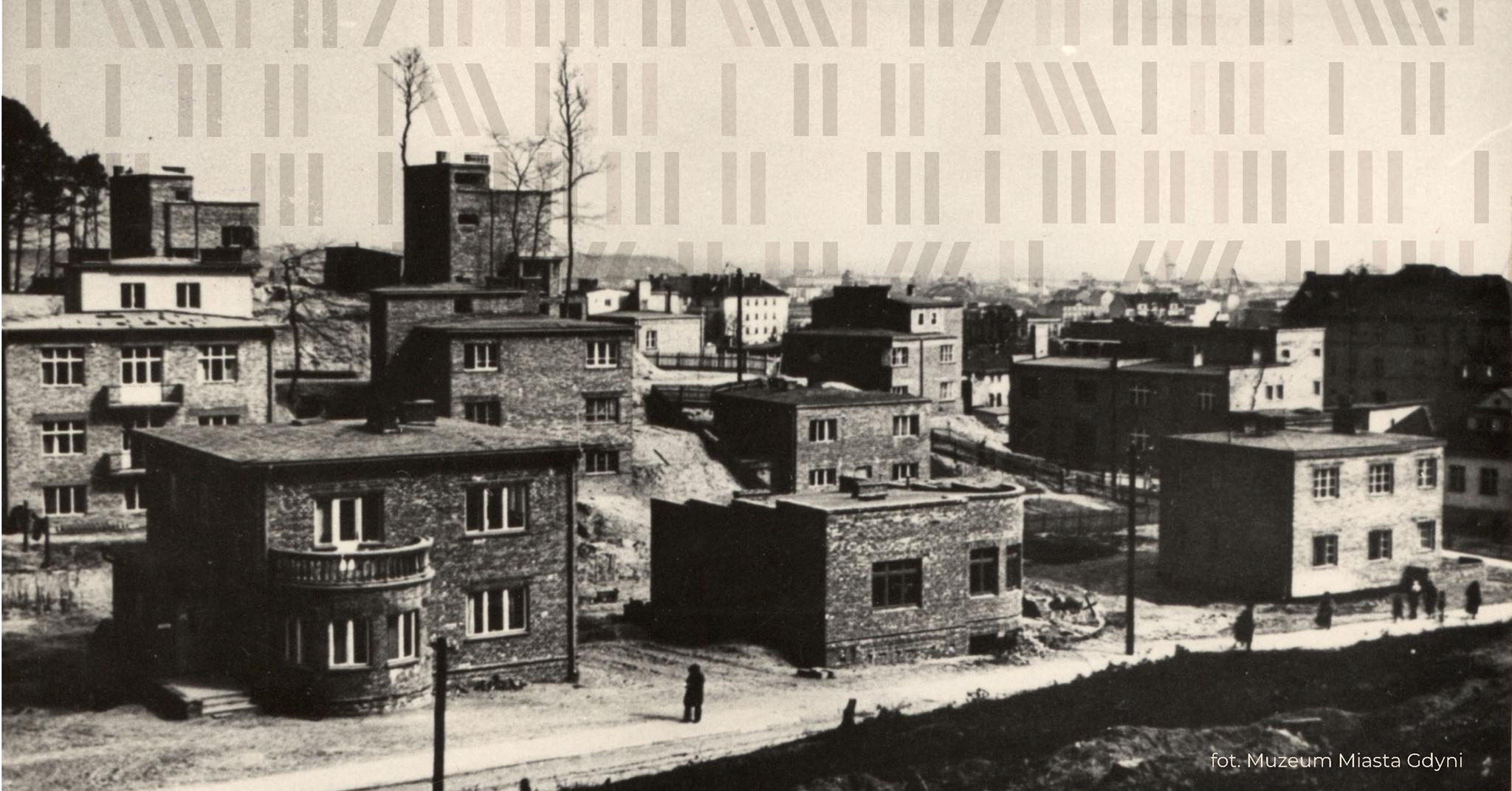 Zamieszkać w międzywojennej Gdyni - wykład dr Marcina Szerle, źródło: Biblioteka Gdynia
