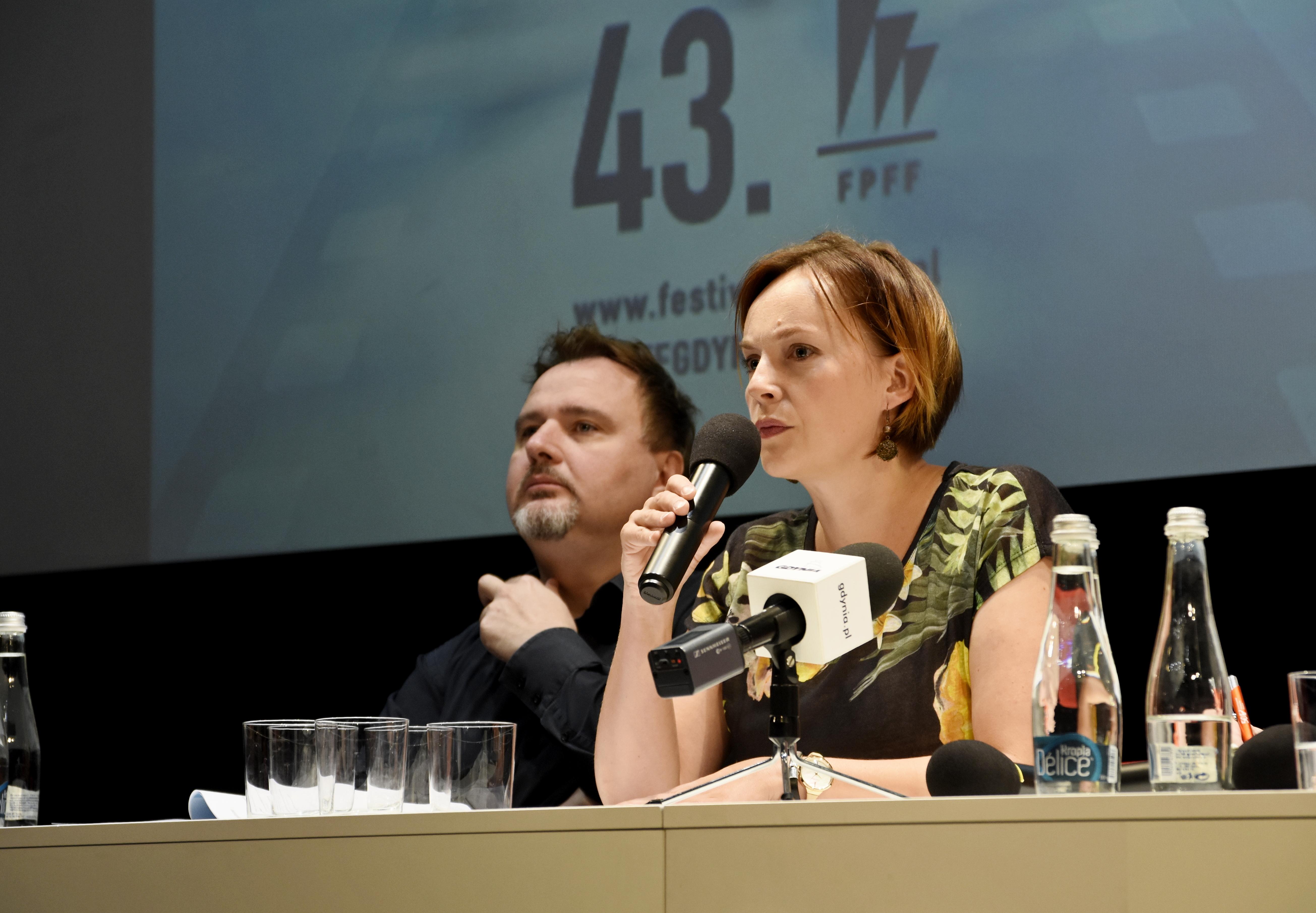 Maja Wagner, pełnomocnik prezydenta Gdyni ds. kultury, fot. Kamil Złoch
