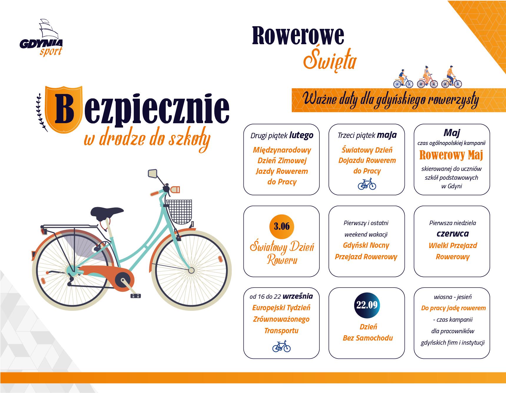 """Książeczka """"Bezpiecznie w drodze do szkoły"""" to uniwersalne narzędzie służące jako narzędzie do edukacji dla rodziców, nauczycieli i liderów projektów rowerowych w naszym mieście."""