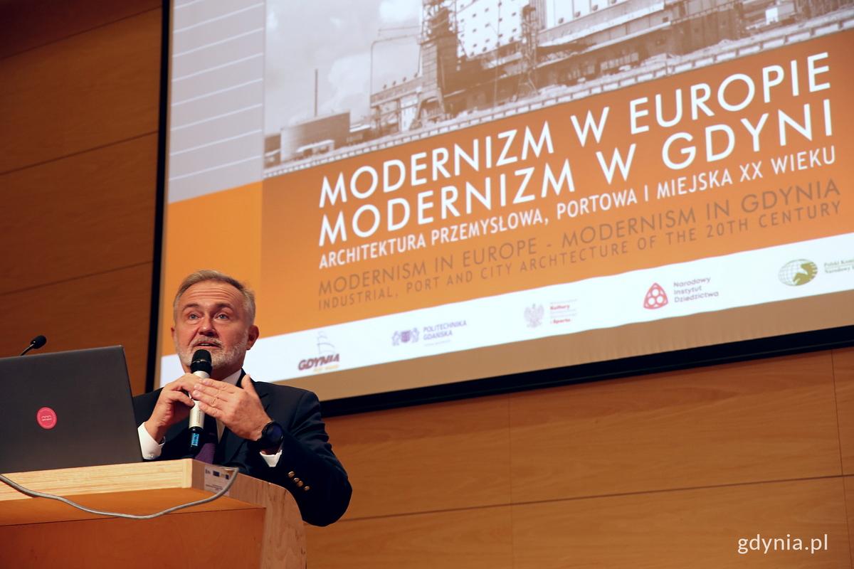 Prezydent Gdyni Wojciech Szczurek, fot. Przemysław Kozłowski