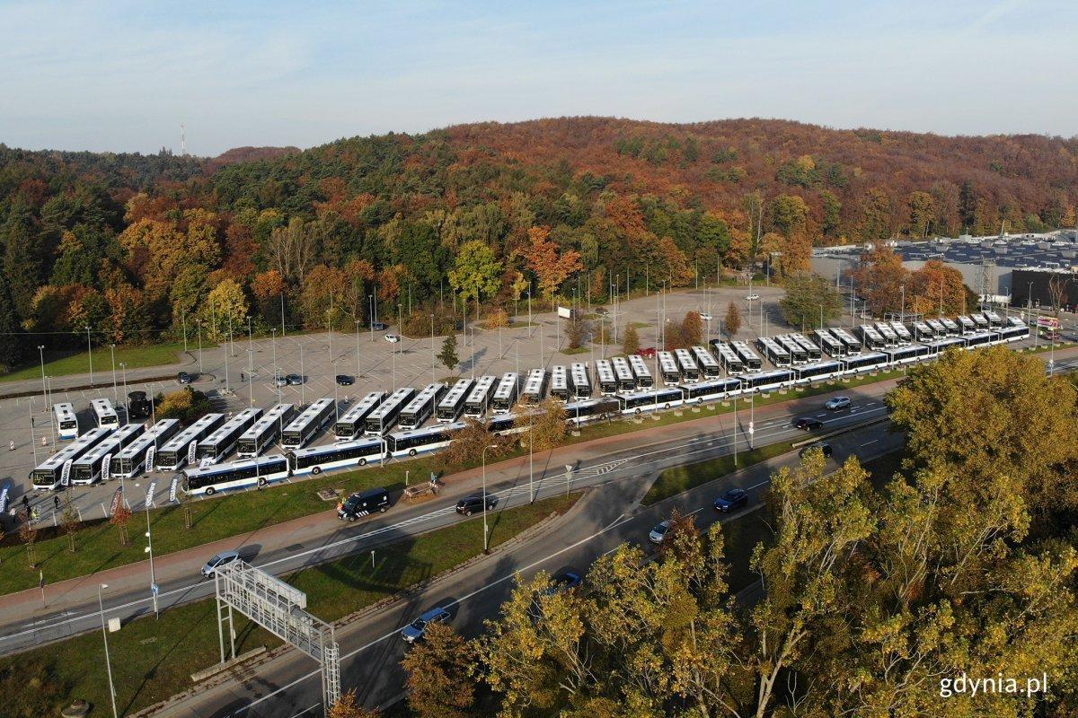 55 nowoczesnych i ekologicznych autobusów, fot. Michał Puszczewicz