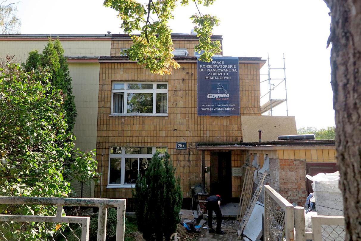 Przeprowadzony w 2020 roku remont willi Bliźniaczej przy ul. Korzeniowskiego 25a. Źródło: Biuro Miejskiego Konserwatora Zabytków