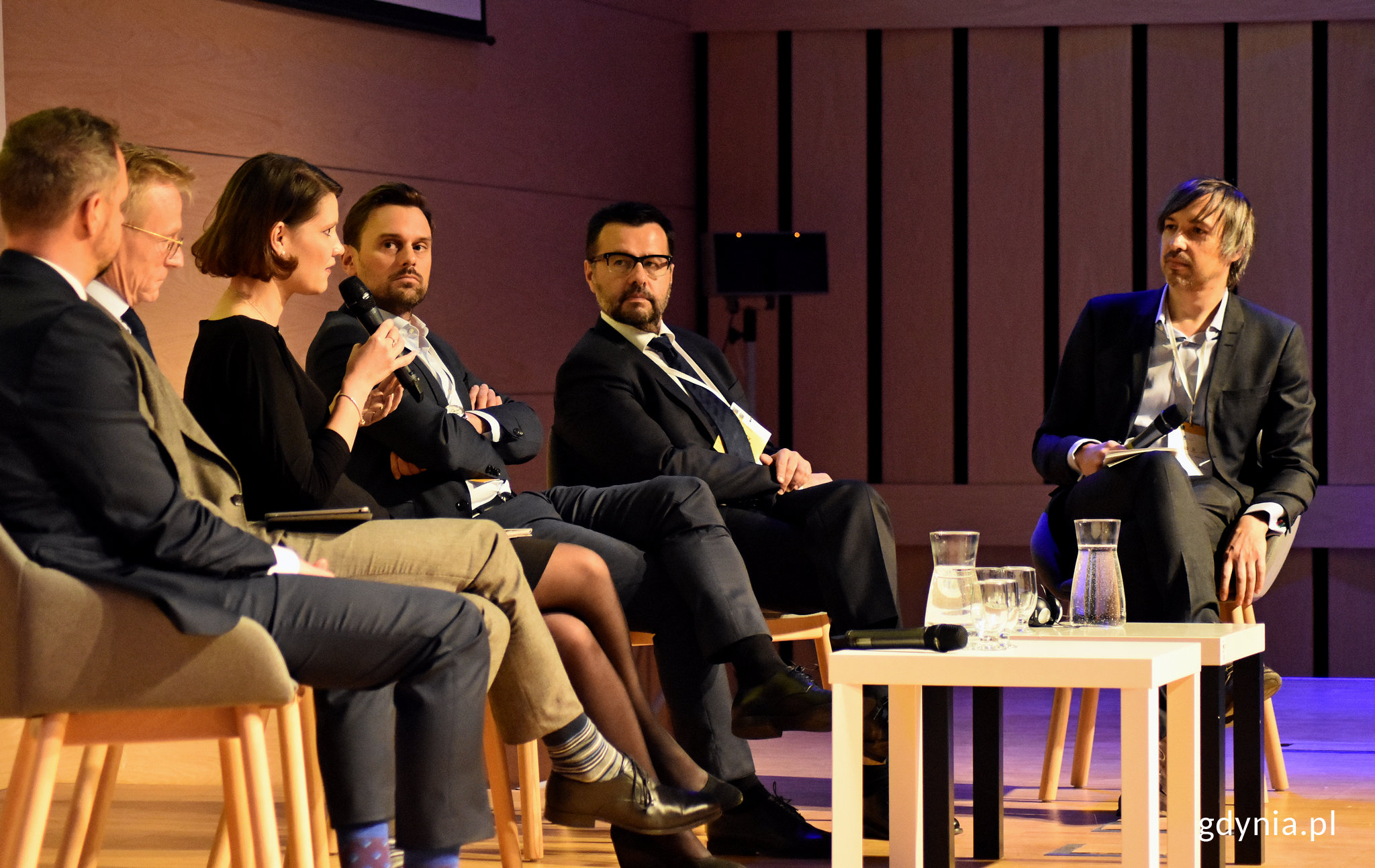 Panel dyskusyjny z udziałem wiceprezydent Gdyni, Katarzyny Gruszeckiej-Spychały, fot. Kamil Złoch