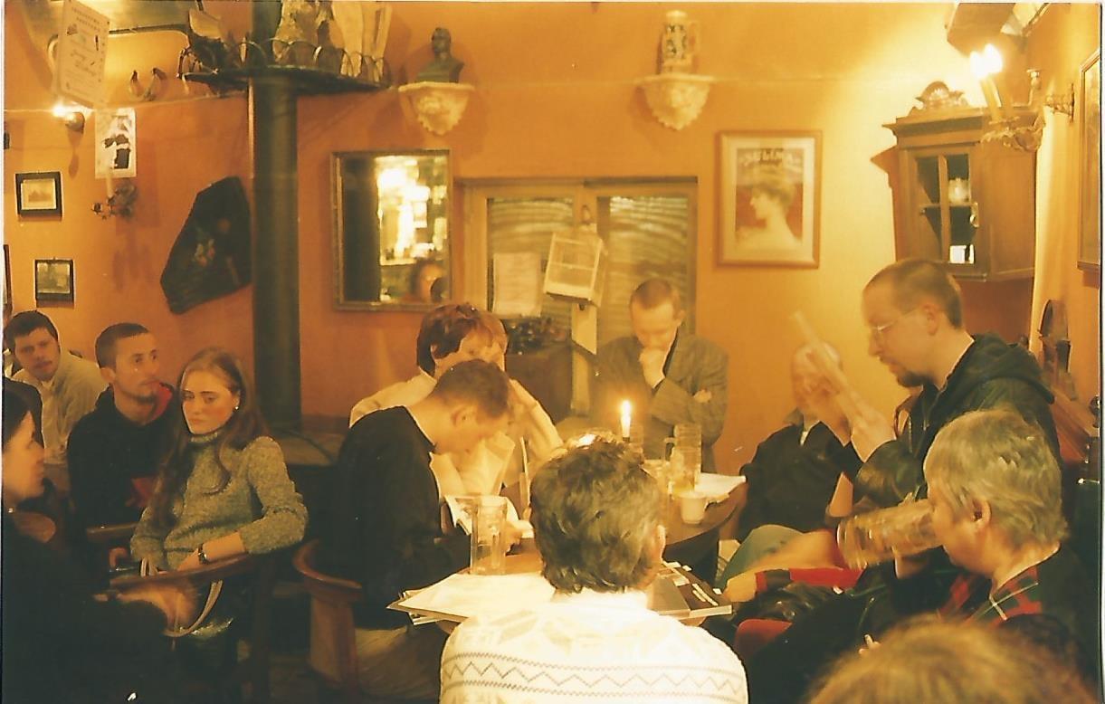 Przystań Poetycka Strych w Cafe Strych, źródło: Przystań Poetycka Strych