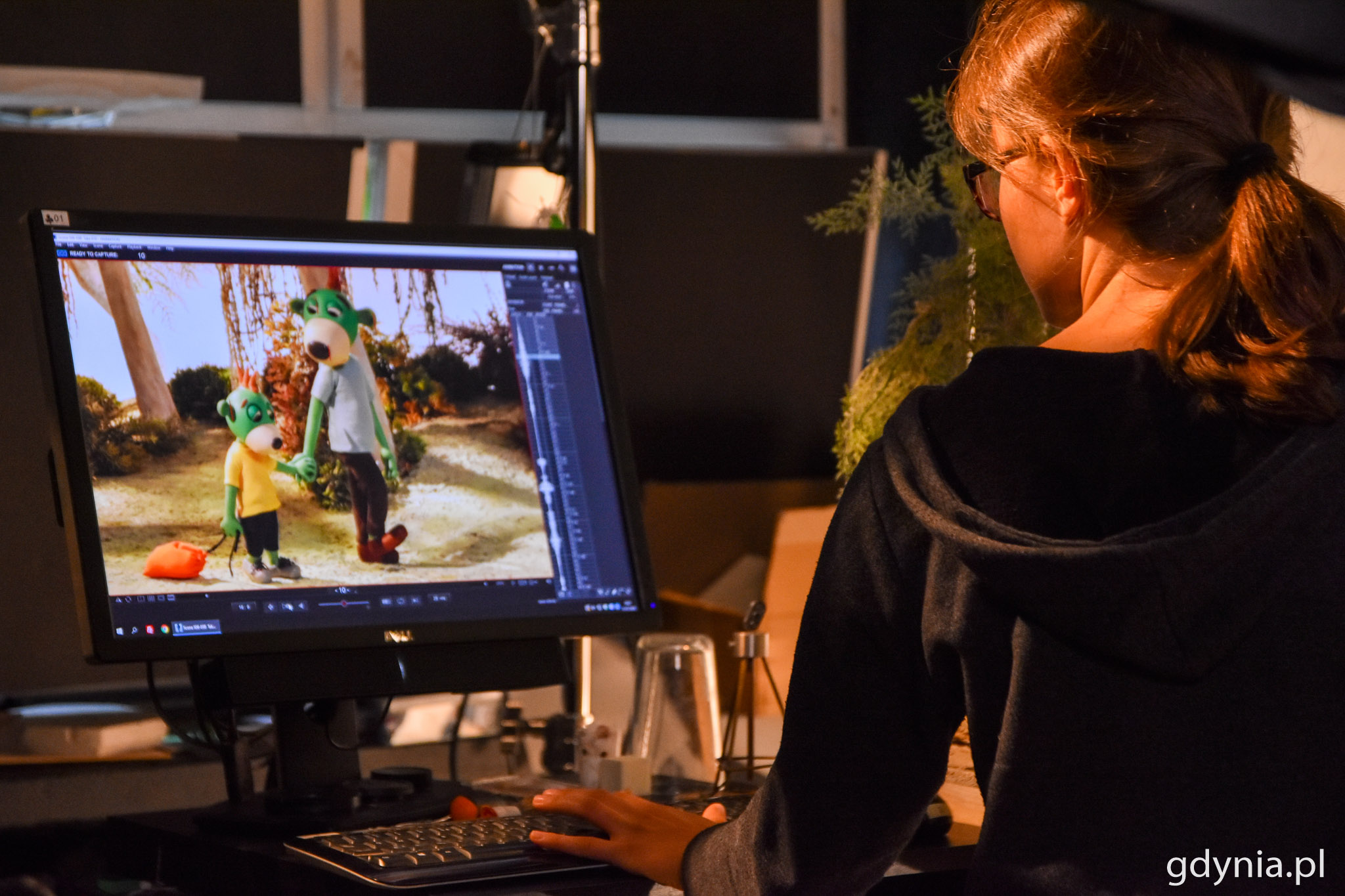 Jedna sekunda animacji to 25 zdjęć, czyli klatek // fot. Paweł Kukla