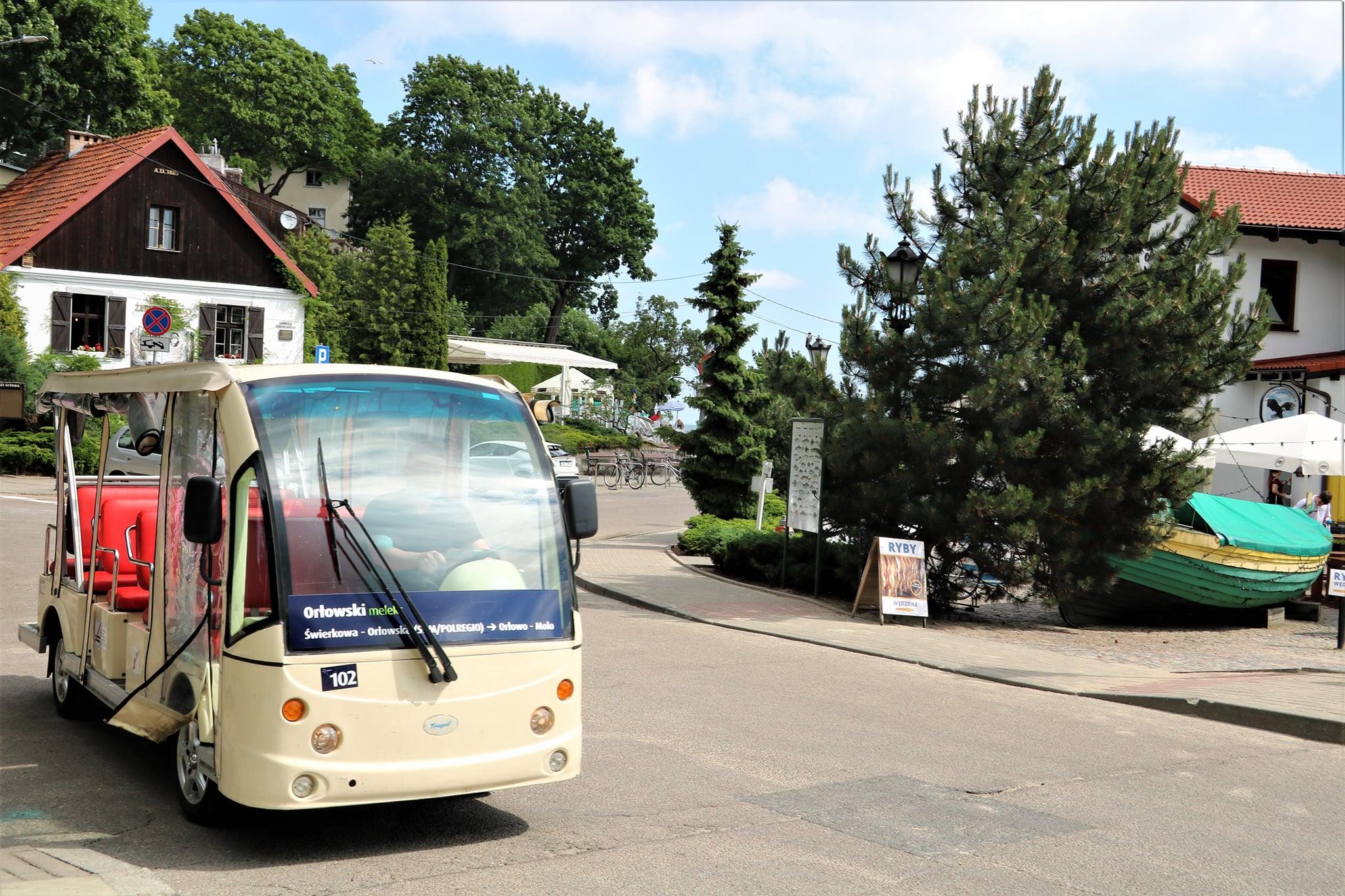 Meleksy okazały się trafionym pomysłem - skorzystało z nich ok. 25 tysięcy pasażerów, fot. facebook.com/zkmgdynia