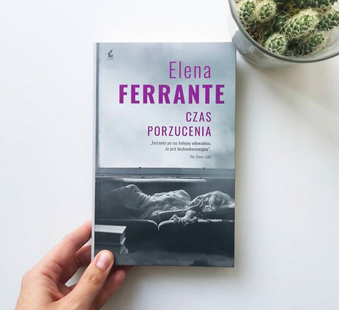 """Elena Ferrante """"Czas porzucenia"""", źródło: Biblioteka Gdynia"""